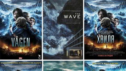 «Bølgen» er en av de største norske filmeksportene de siste årene. Men selv om norske filmer omsettes for rekordsummer på det internasjonale filmmarkedet, tjener de fortsatt mest hjemme i Norge.
