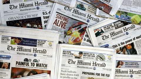USAs nest største avisgruppering, McClatchy, søkte torsdag konkursbeskyttelse, men forsøker å drive et 30-talls regionsaviser videre.