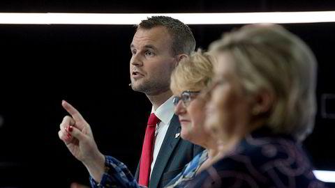 Venstre og Krf har innvendinger mot at Høyre skal sitte med både statsminister- og finansministerposten.
