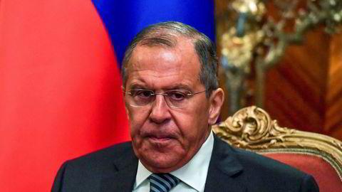 Russlands utenriksminister Sergei Lavrov maner til europeisk samarbeid i forhold til Iran og atomavtalen.