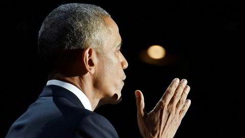 Tidligere president Barack Obama.