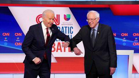 I søndagens debatt mellom Demokratenes aldrende presidentkandidater ble det langt på vei lovet at visepresidentkandidaten vil bli en kvinne, uansett.