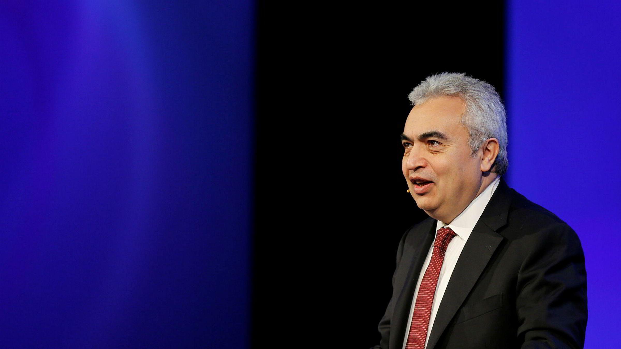 Fatih Birol var tidligere sjef for IEAs analyser. Nå er han sjef for hele byrået. Onsdag la han frem anslag som viser vekst i oljeetterspørselen neste år.