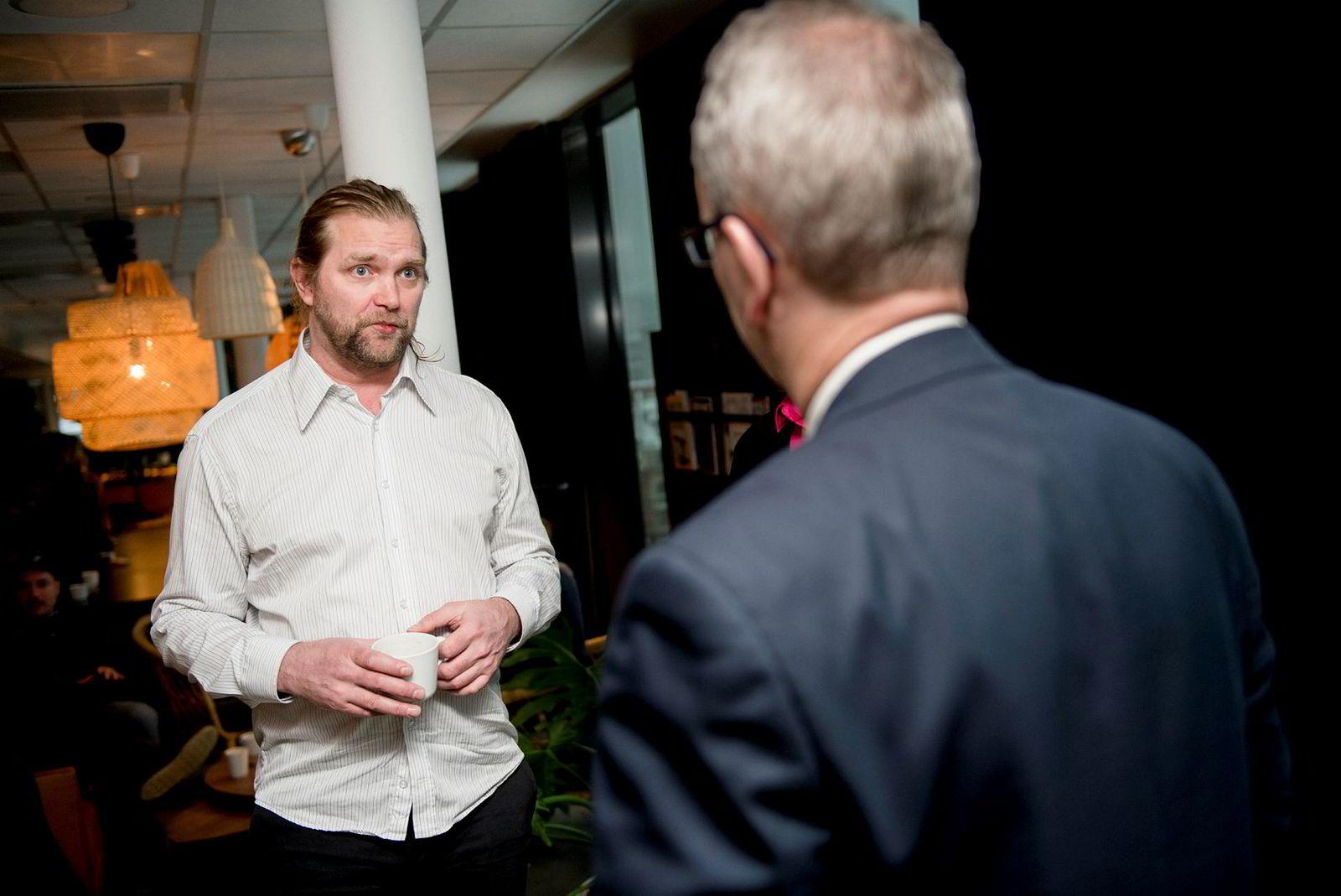Selvaag-arving og investor Tharald Nustad er også en del av «Folk».