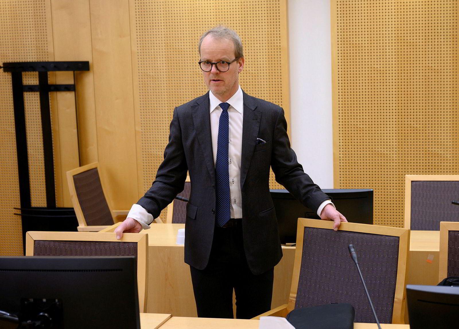 Advokat Atle Degré representerer Jool Capital Partner ab.