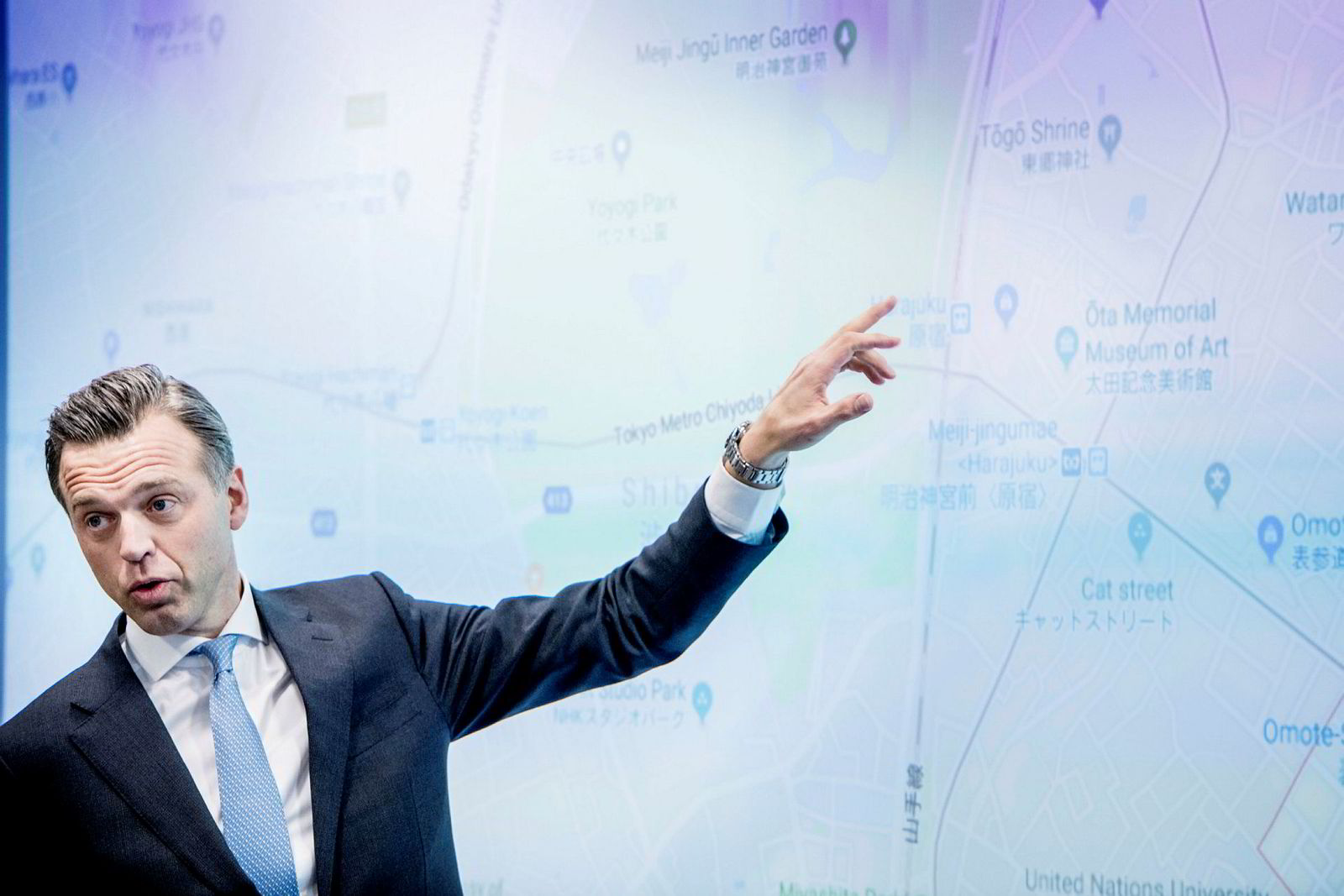Karsten Kallevig, sjef for NBREM.