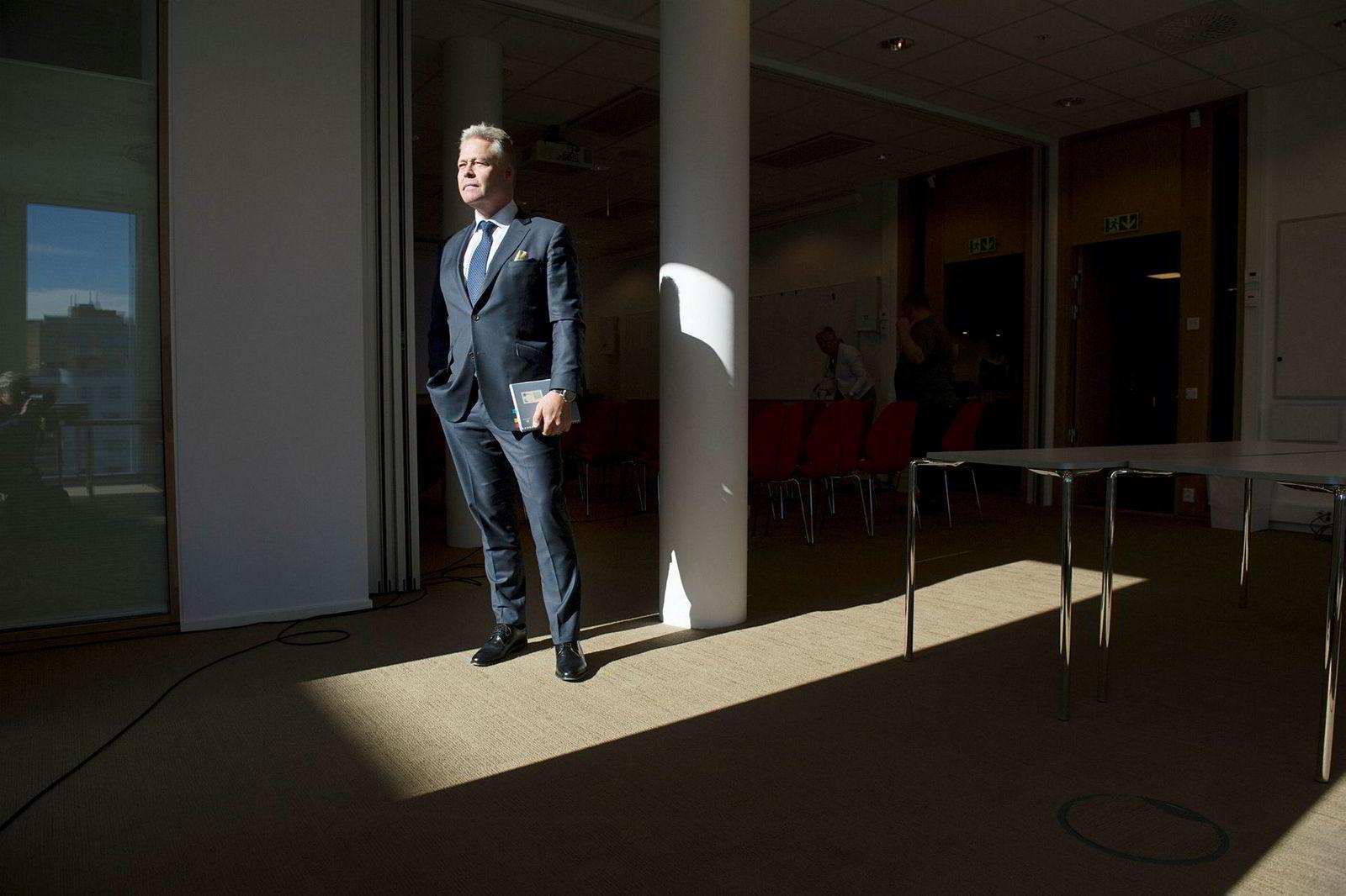 Helge Leiro Baastad, konsernsjef i Gjensidige,