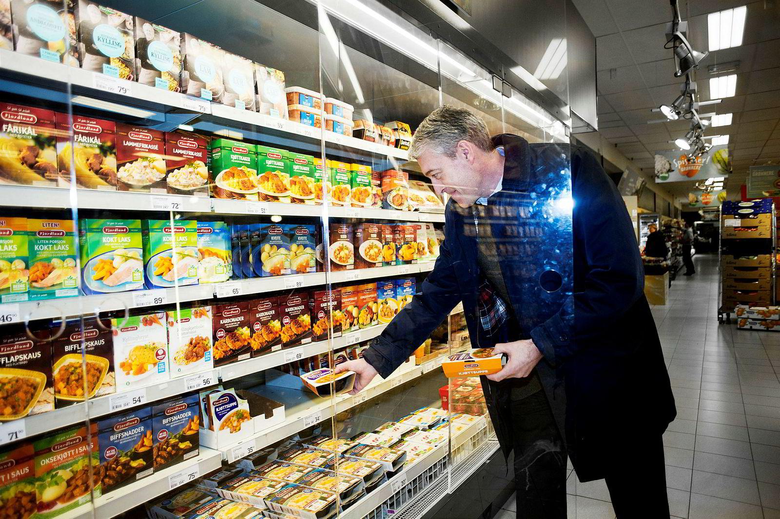 – Fortsatt er kjøttkaker vår bestselger, sier André Gobel, administrerende direktør i Fjordland.