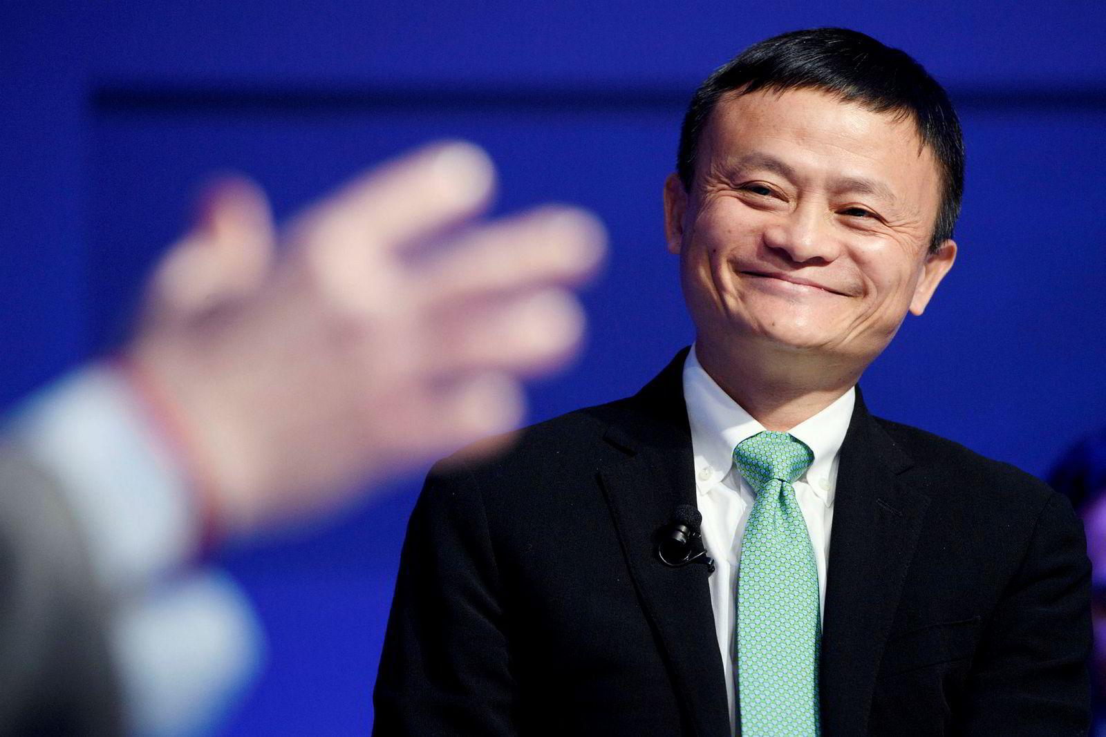 Alibaba-grunnlegger Jack Ma.