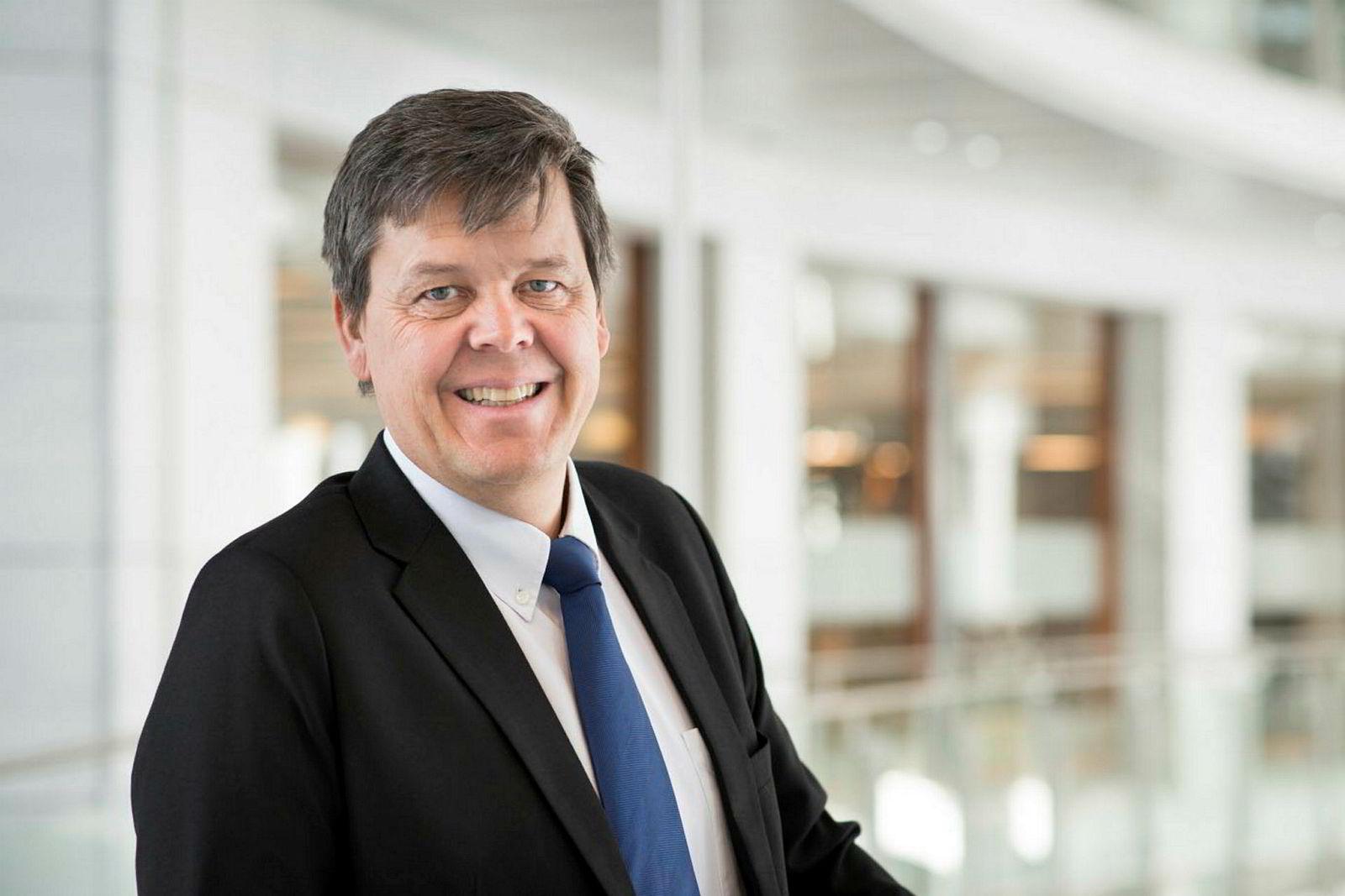 Tore Andresen, driftsdirektør i Bank Norwegian.