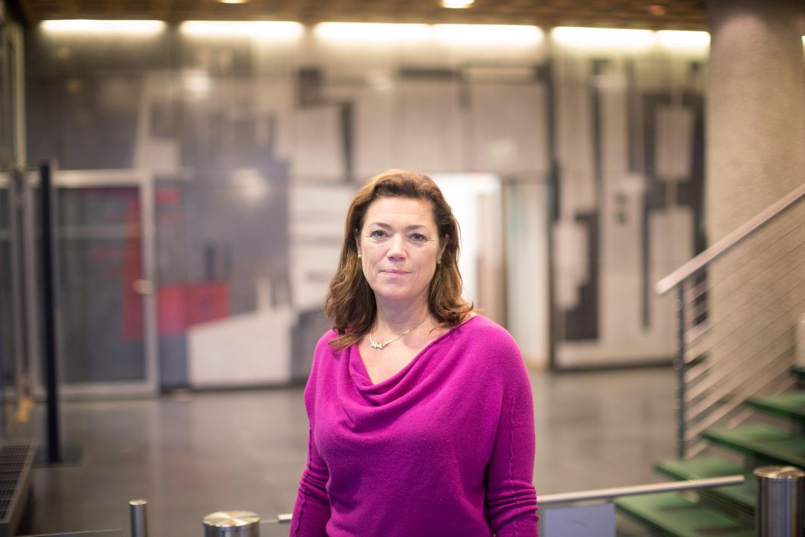 NHO-direktør Kristin Skogen Lund. FOTO: