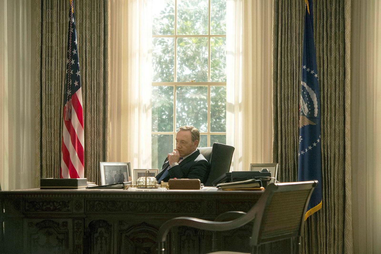 Kevin Spacey blir ikke å se som president Frank Underwood i sjette og siste sesong av Netflix-serien «House of Cards».