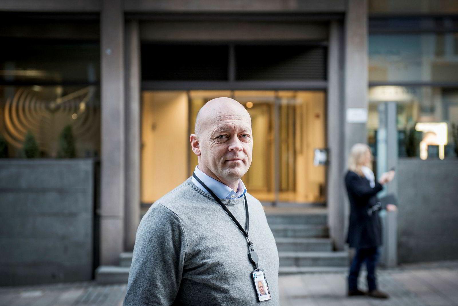 Styreleder i Morgenlevering, Harald Jacobsen.