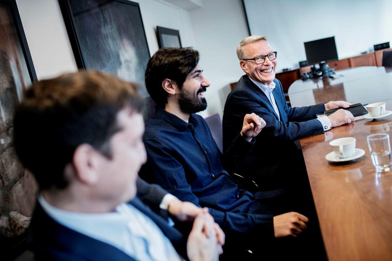 John Antonio Nilsen og Arash Saidi grunnleggerne av Convertelligence sammen med Erik Must, som har investert i selskapet.