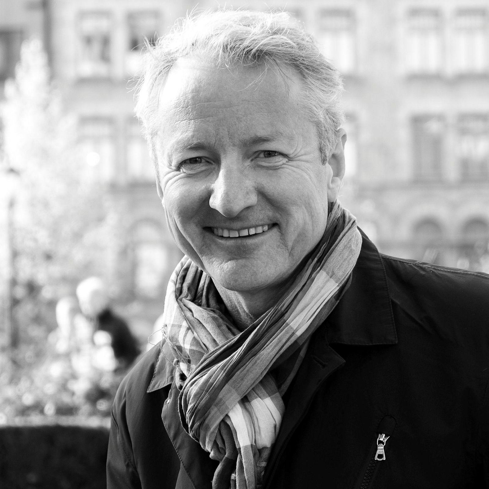 Bjørn Solvang, leder av foreningen Tenk tv.