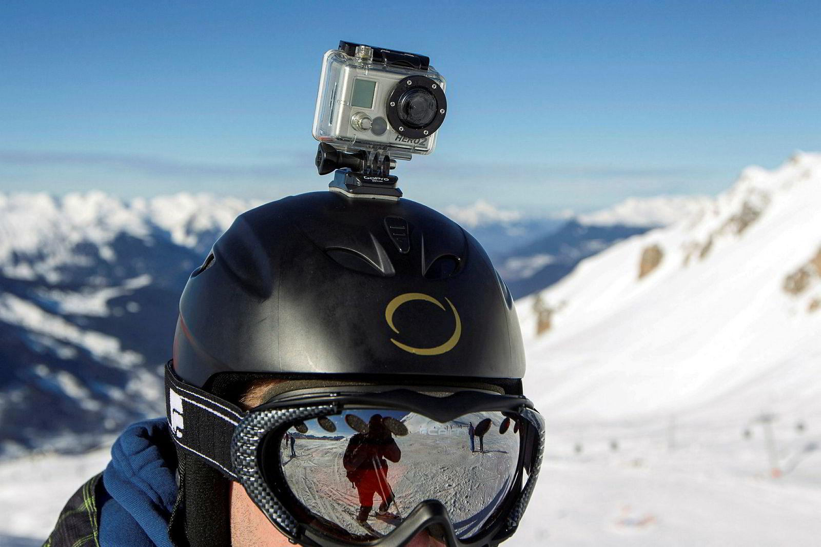Kameraprodusenten GoPro har spesialisert seg på små kamera som kan brukes overalt.