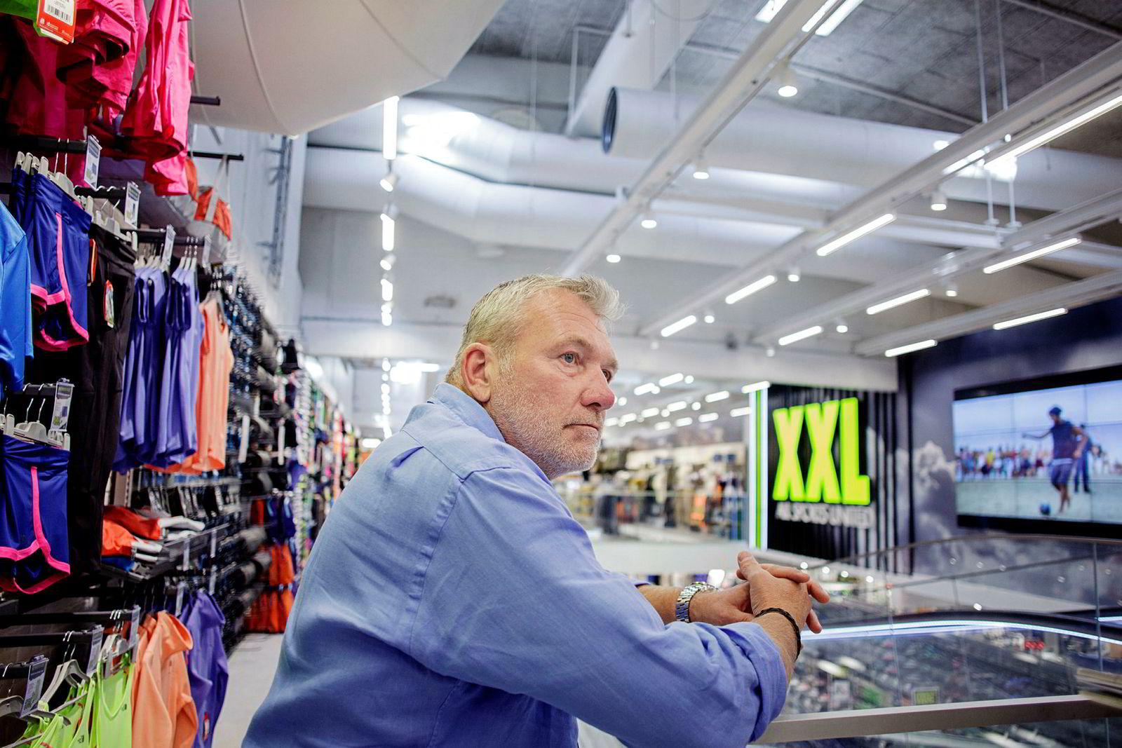 XXL-eier Øivind Tidemandsen.