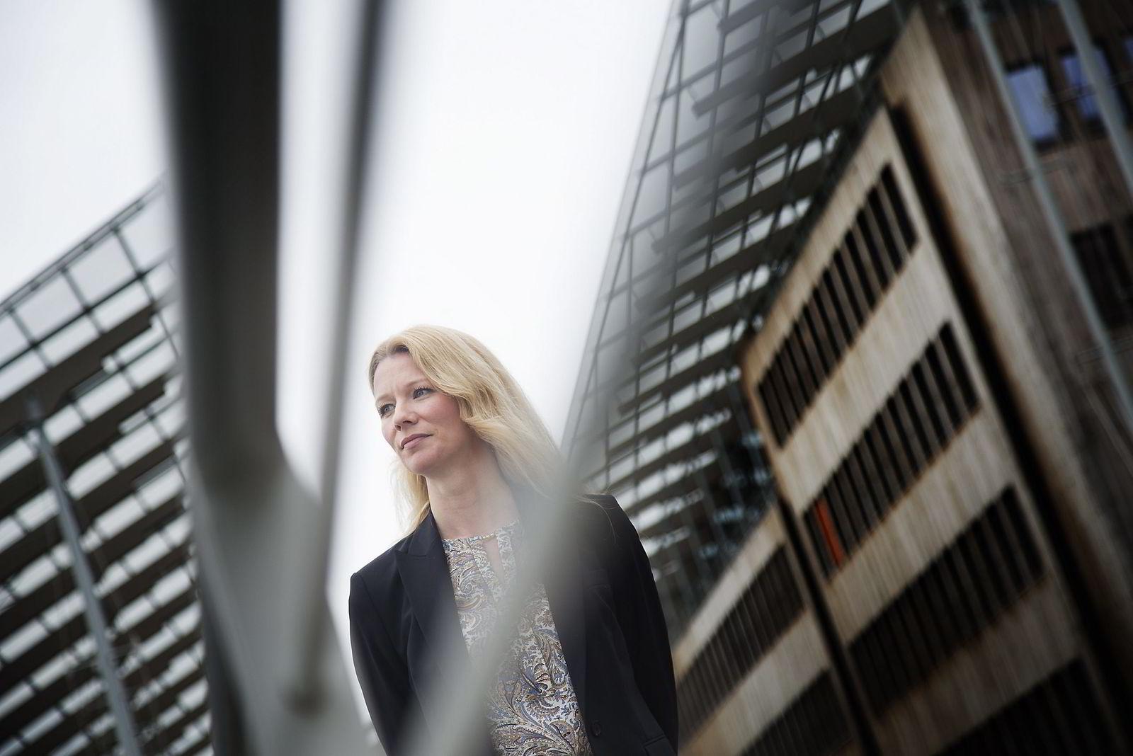 Sjeføkonom Kari Due-Andresen i Handelsbanken Capital Markets viser til at befolkningsveksten i Oslo er avtakende. Foto: