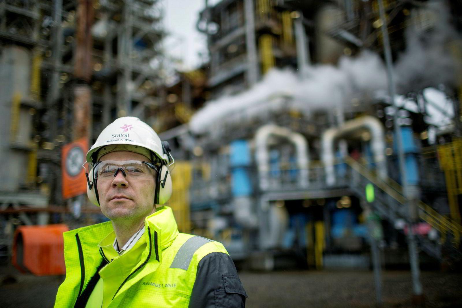 Konserndirektør Jens Økland har ansvaret for raffineriet på Mongstad.