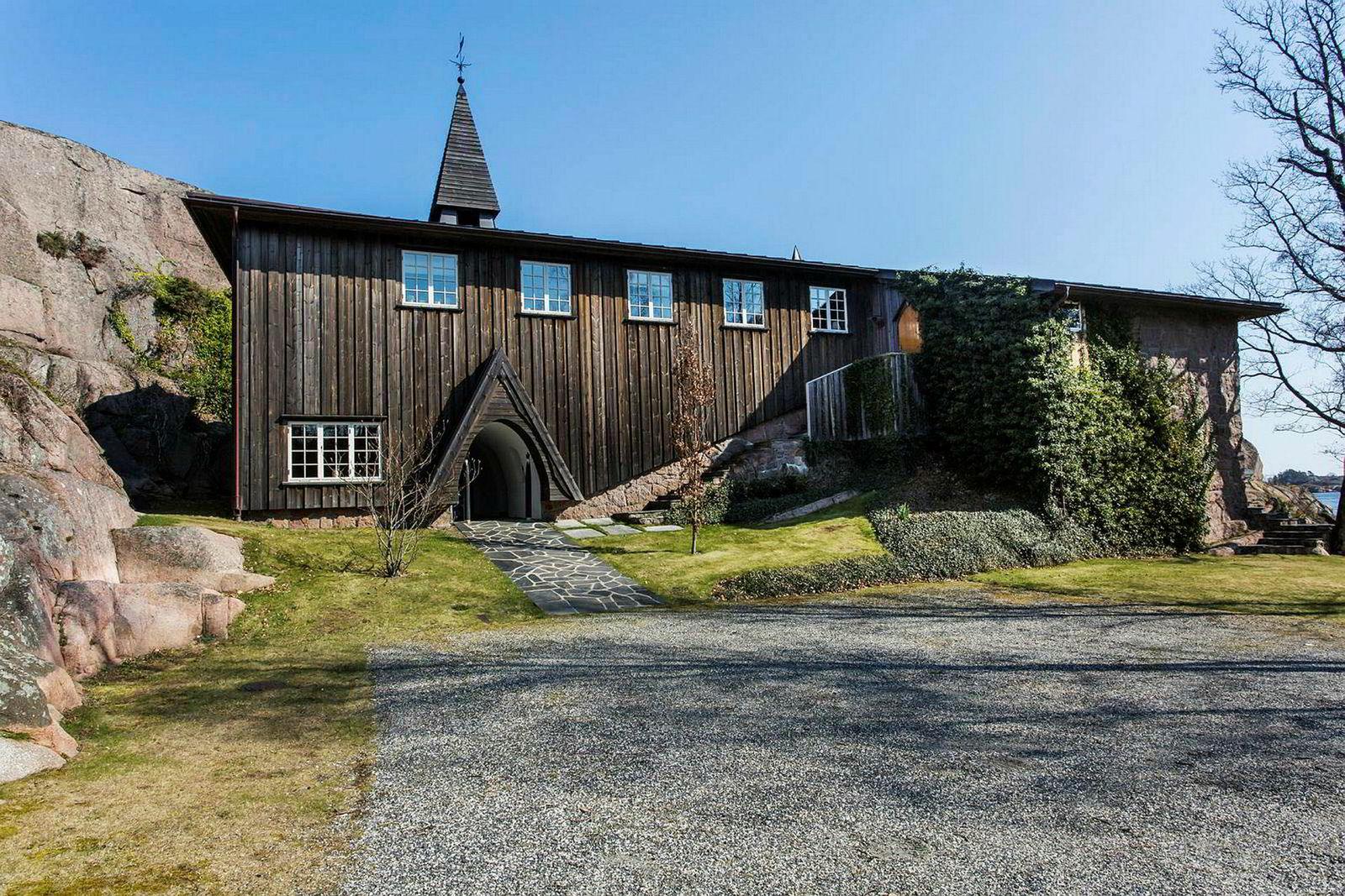Einar Aas sin femte feriebolig i Grimstad ble solgt torsdag 11. juli.