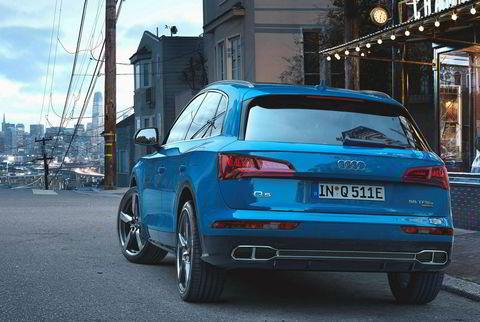 Audi Q5 55 TFSI e quattro ladbar hybrid.