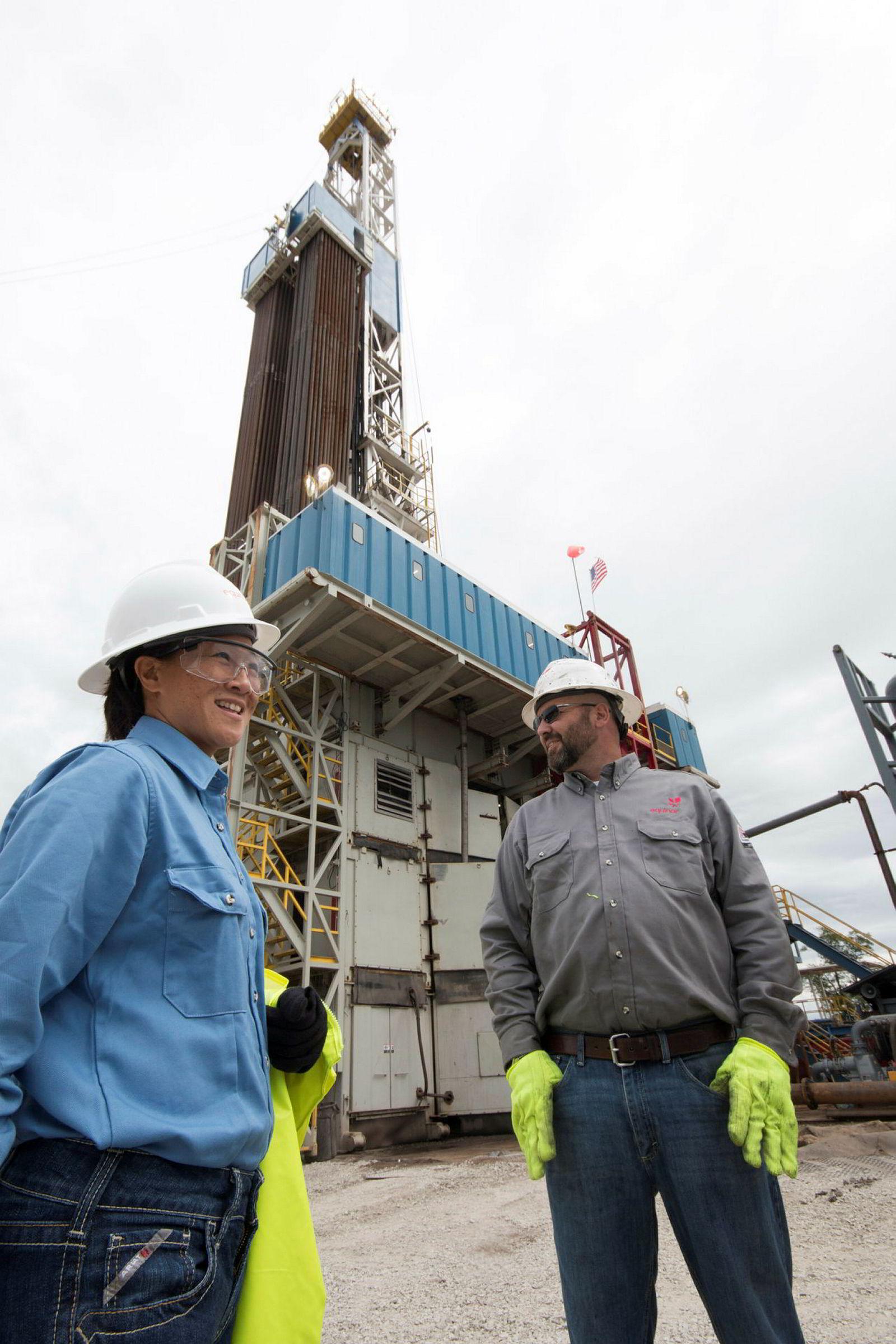 Et av USAs største gassområder ligger i delstaten Ohio i USA.
