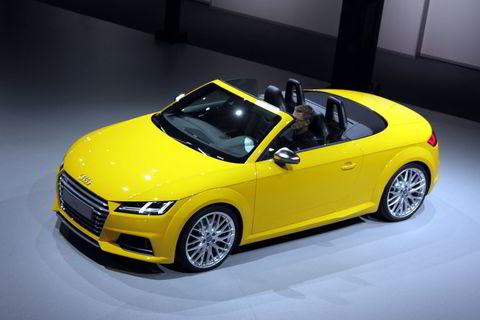 Audi TT Roadster. Alle foto: Embret Sæter