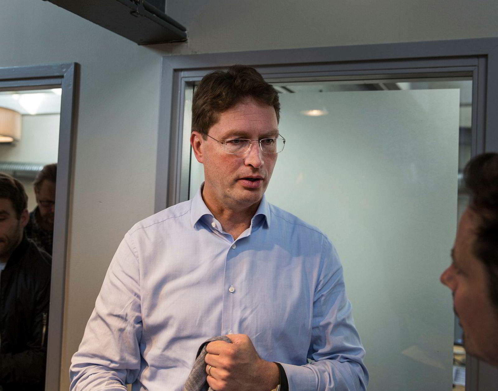 Ola Källenius, styremedlem i Mercedes-Benz.