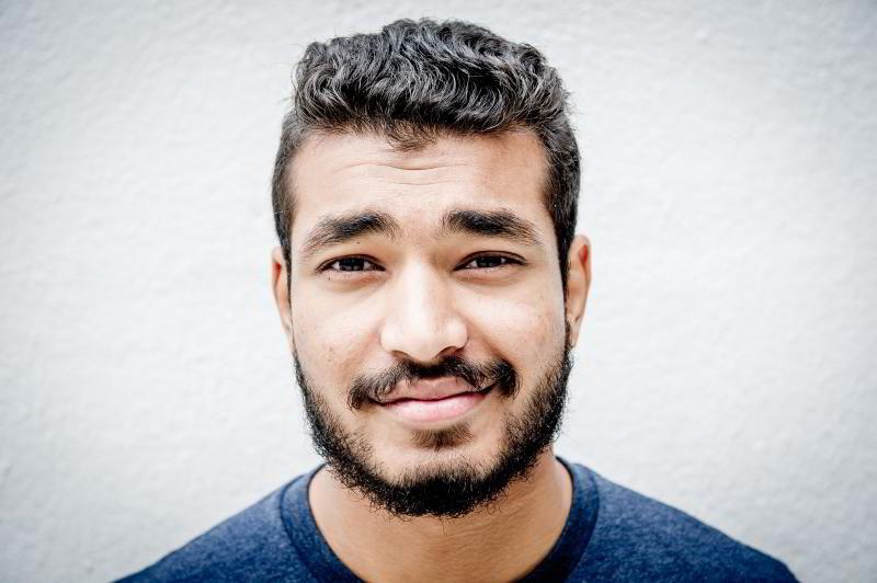 Sabeel Ahshan (22) er student ved nytt studie på NHH i Bergen.