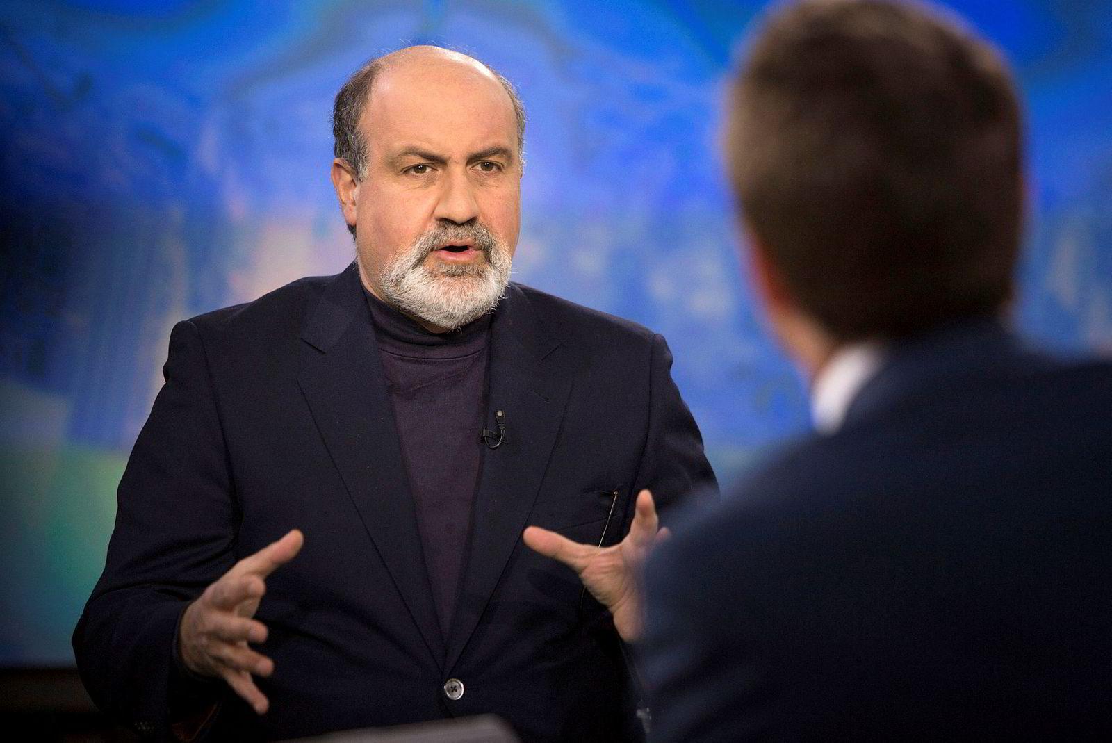 Nassim Nicholas Taleb finansprofessor ved New York University.
