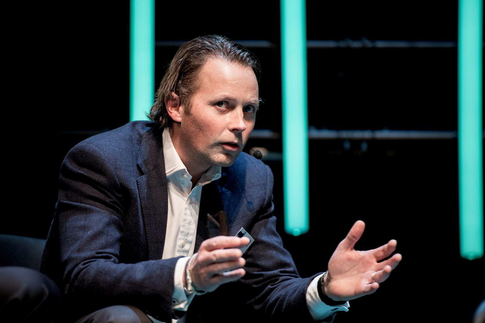 – Blir det gjort riktig, vil autonome skip øke sikkerheten, sier konsernsjef Thomas Wilhelmsen i Wilh. Wilhelmsen.