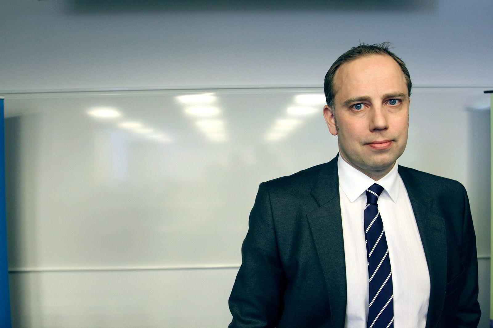 Administrerende direktør Christian Dreyer i Eiendom Norge.