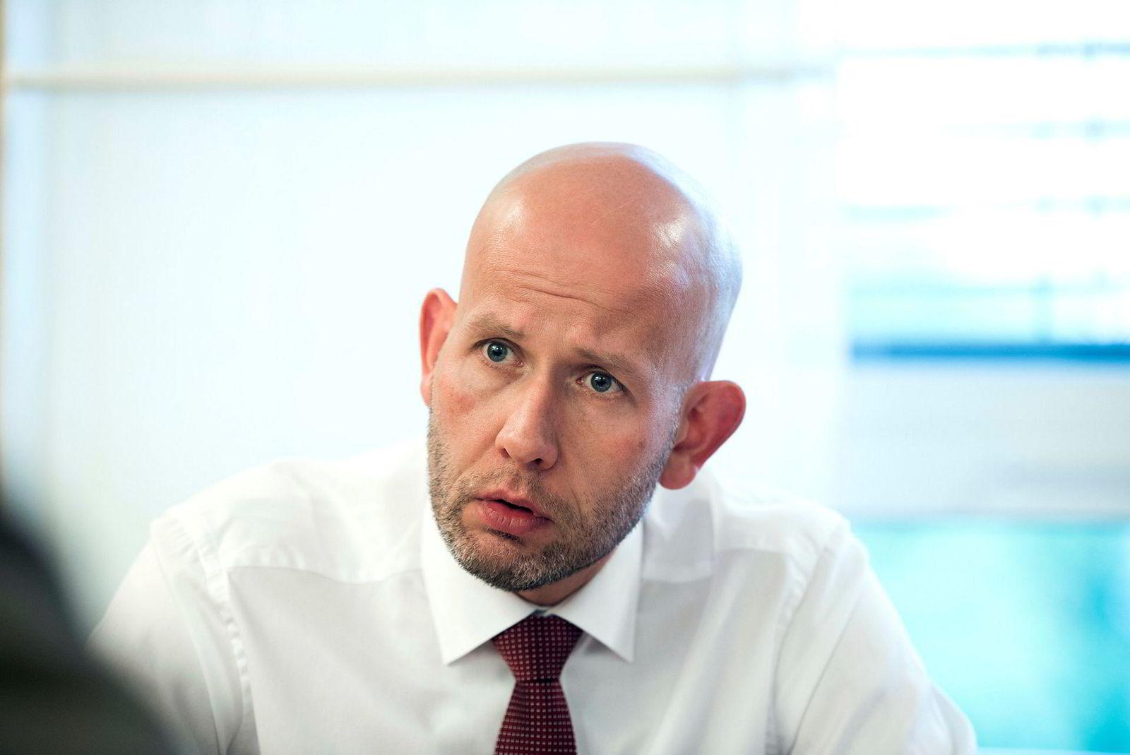Olje- og energiminister Tord Lien.
