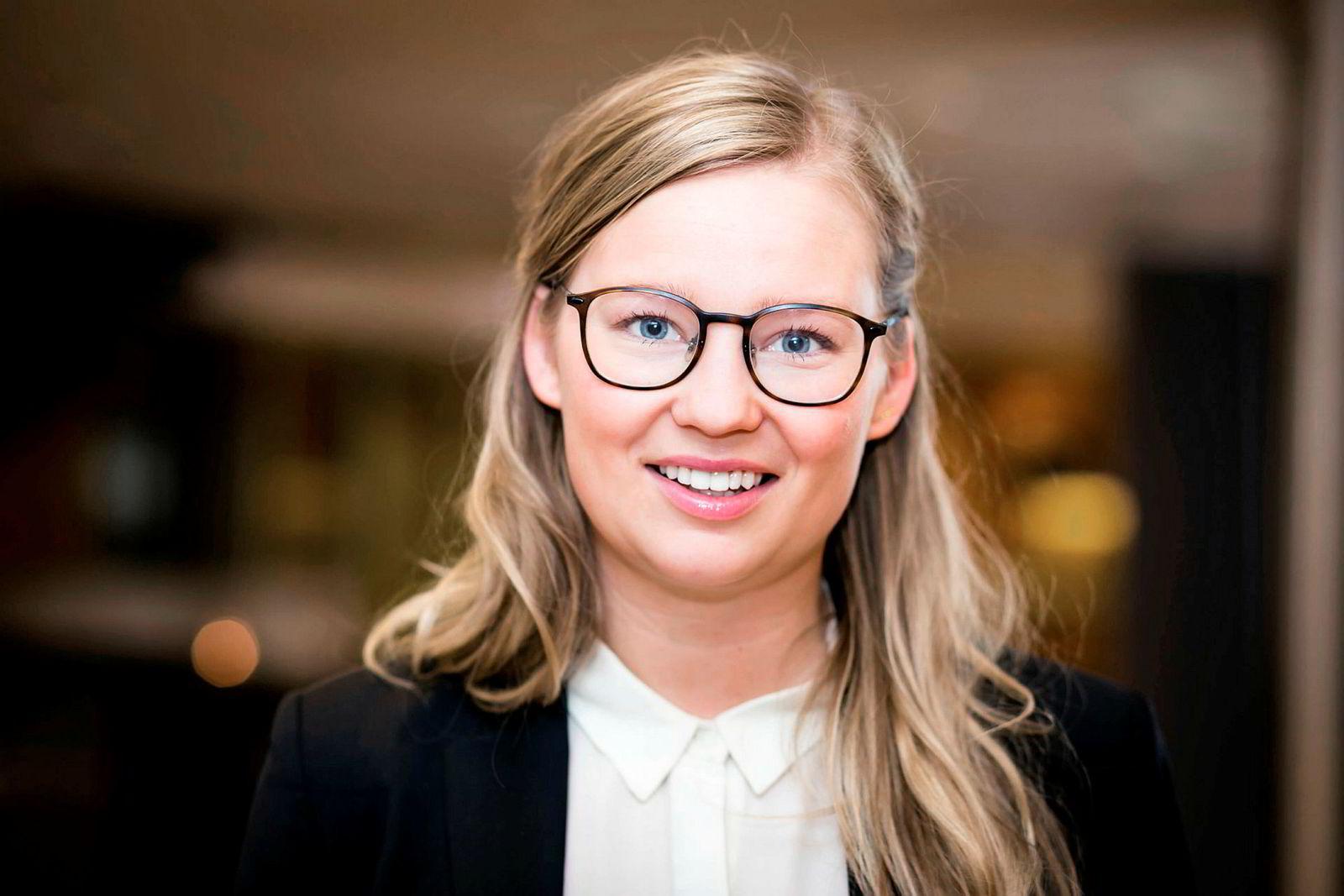Cilia Indahl er bærekraftsdirektør i Aker Biomarine og en populær foredragsholder.
