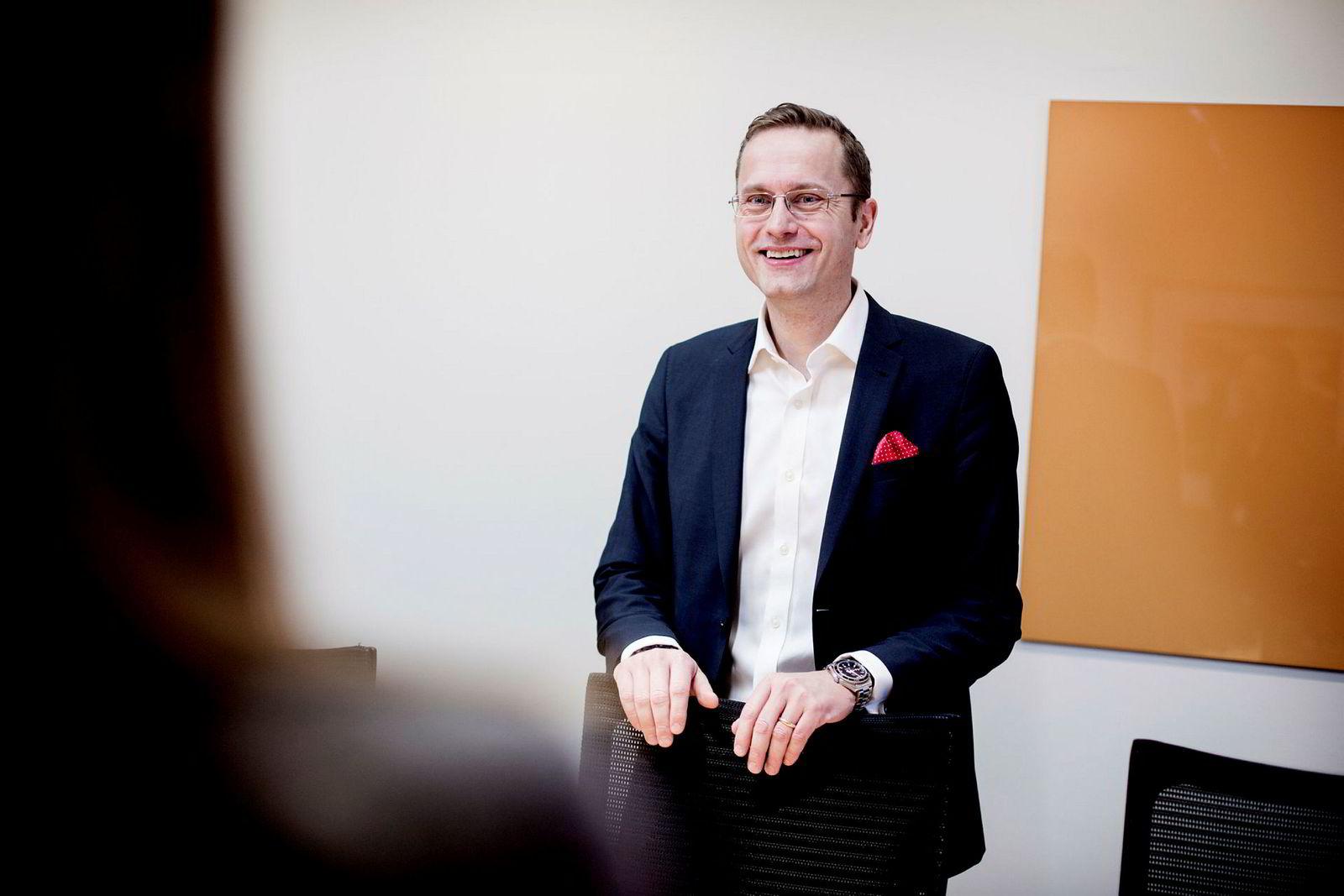 Administrerende direktør Snorre Storset i Nordea Norge.