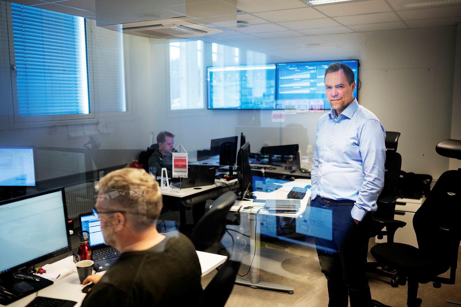 Gunnar Nordseth og Signicat fikk nylig en solid kapitalinnsprøytning fra Nordic Capital for å vokse enda raskere.