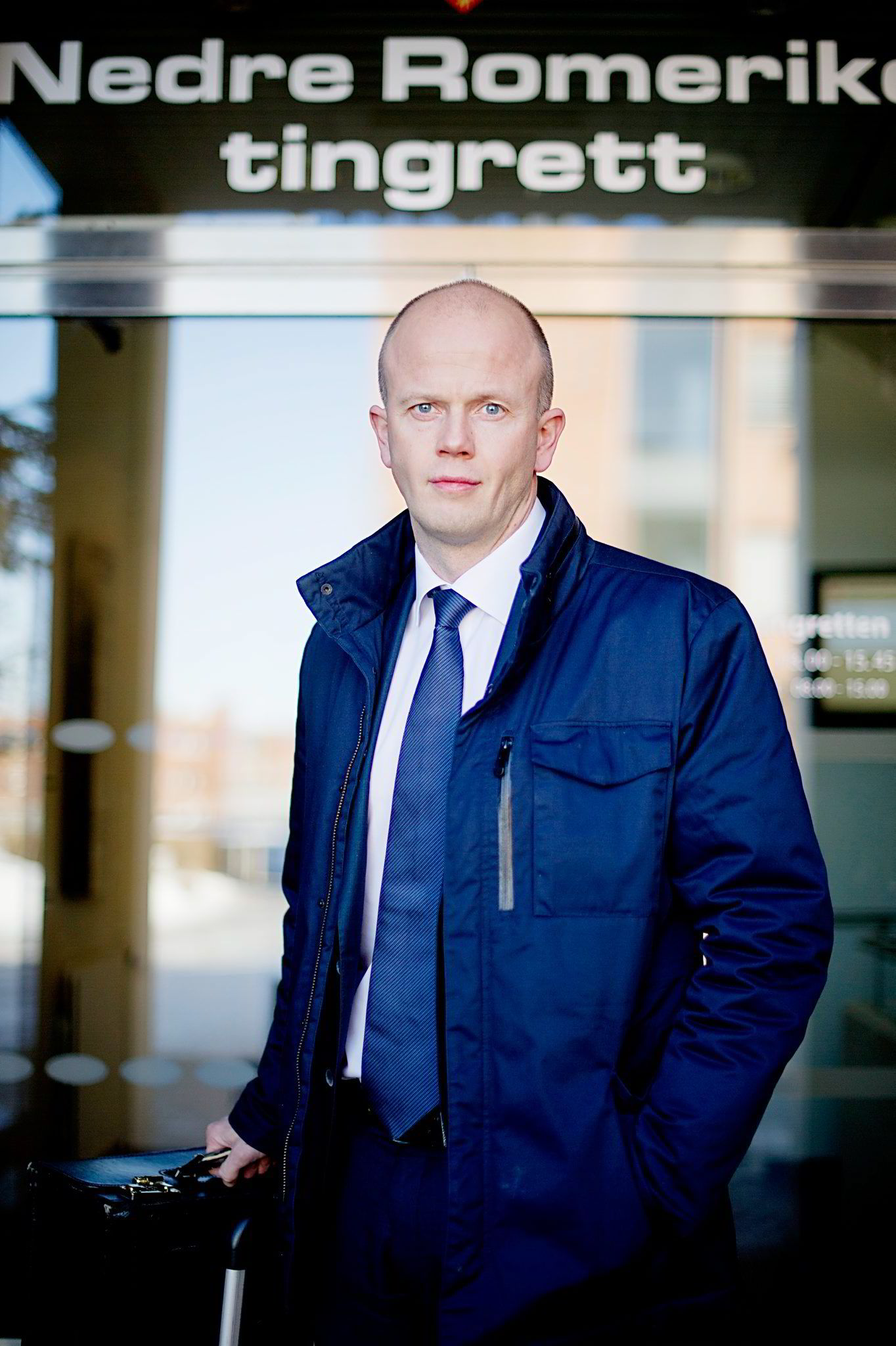GIR TOPPLEDERNE RÅD. Tidligere statsadvokat, nå Hjort-advokat, Svein Holden.