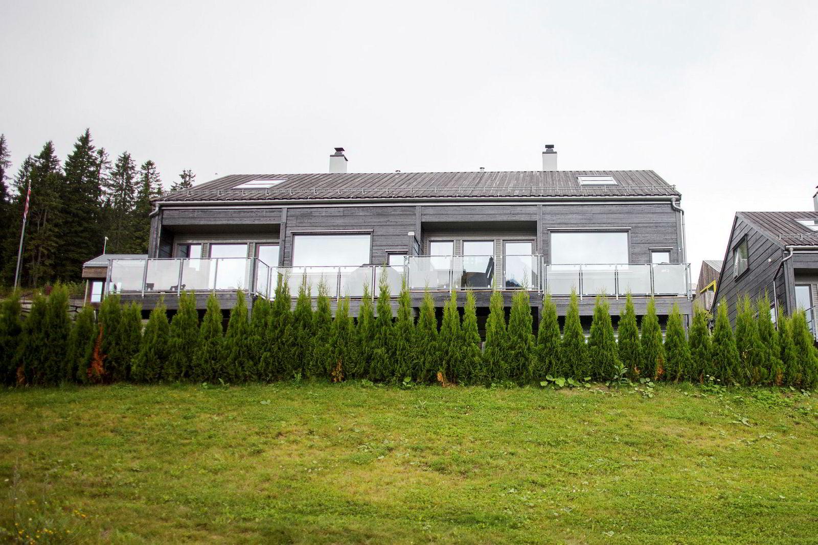 Marit Bjørgens hus i Thorleif Haugs vei i Holmenkollen.