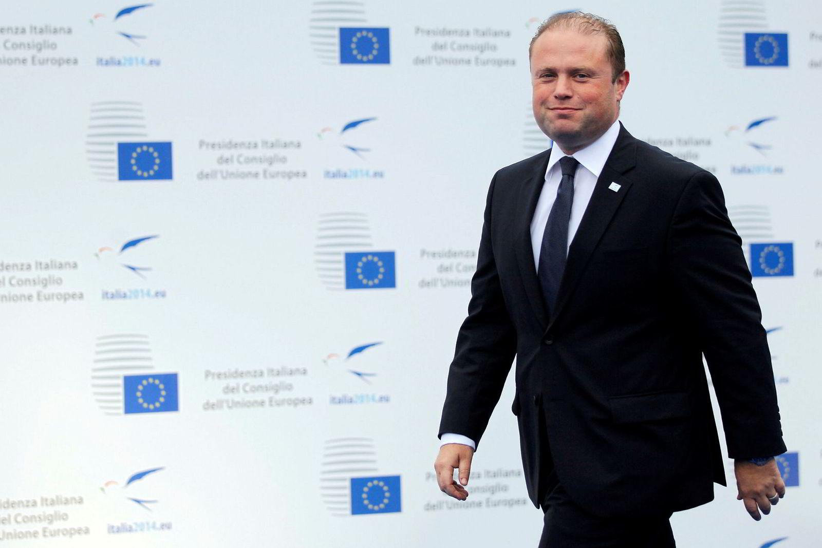 Malta's statsminister Joseph Muscat