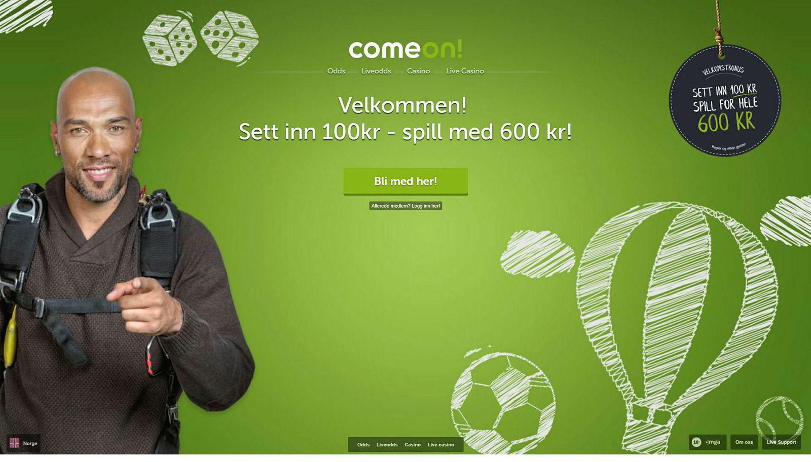 Tidligere landslagsspiller John Carew er spillambassadør for gamblingselskapet Comeon.