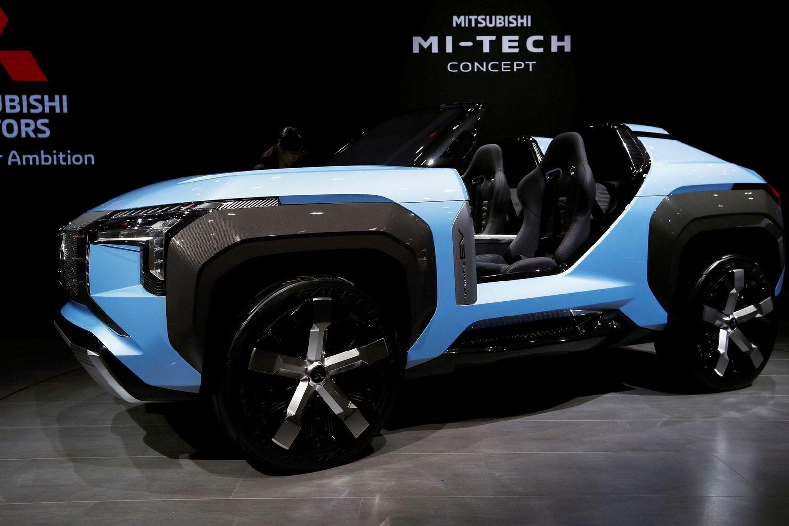 Mitsubishi Mi-Tech hybrid concept er kanskje ikke direkte pen, men skal vise at selskapet jobber med flere suver.