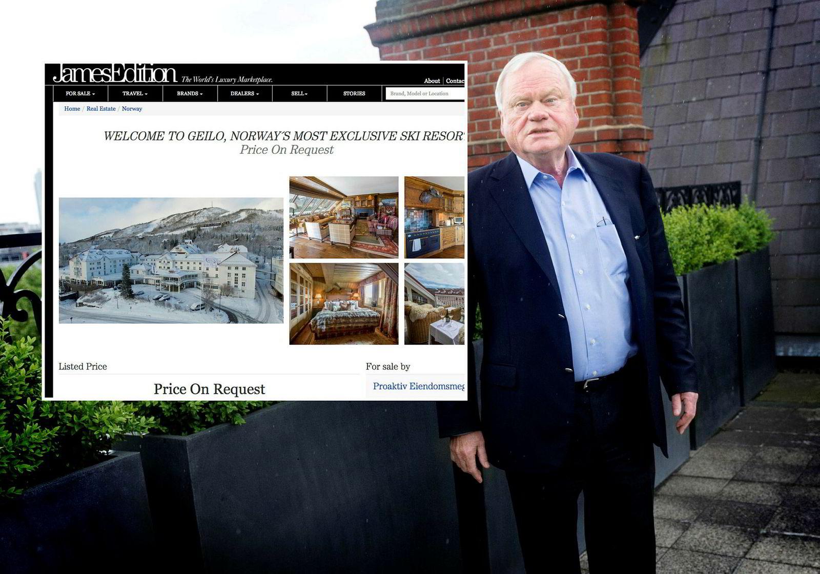 I tillegg til annonsering i norske medier, ble John Fredriksens luksusleilighet til 27 millioner kroner også lagt ut på Jamesedition, en global luksusversjon av Finn.no, der prisantydningen var «price on request».