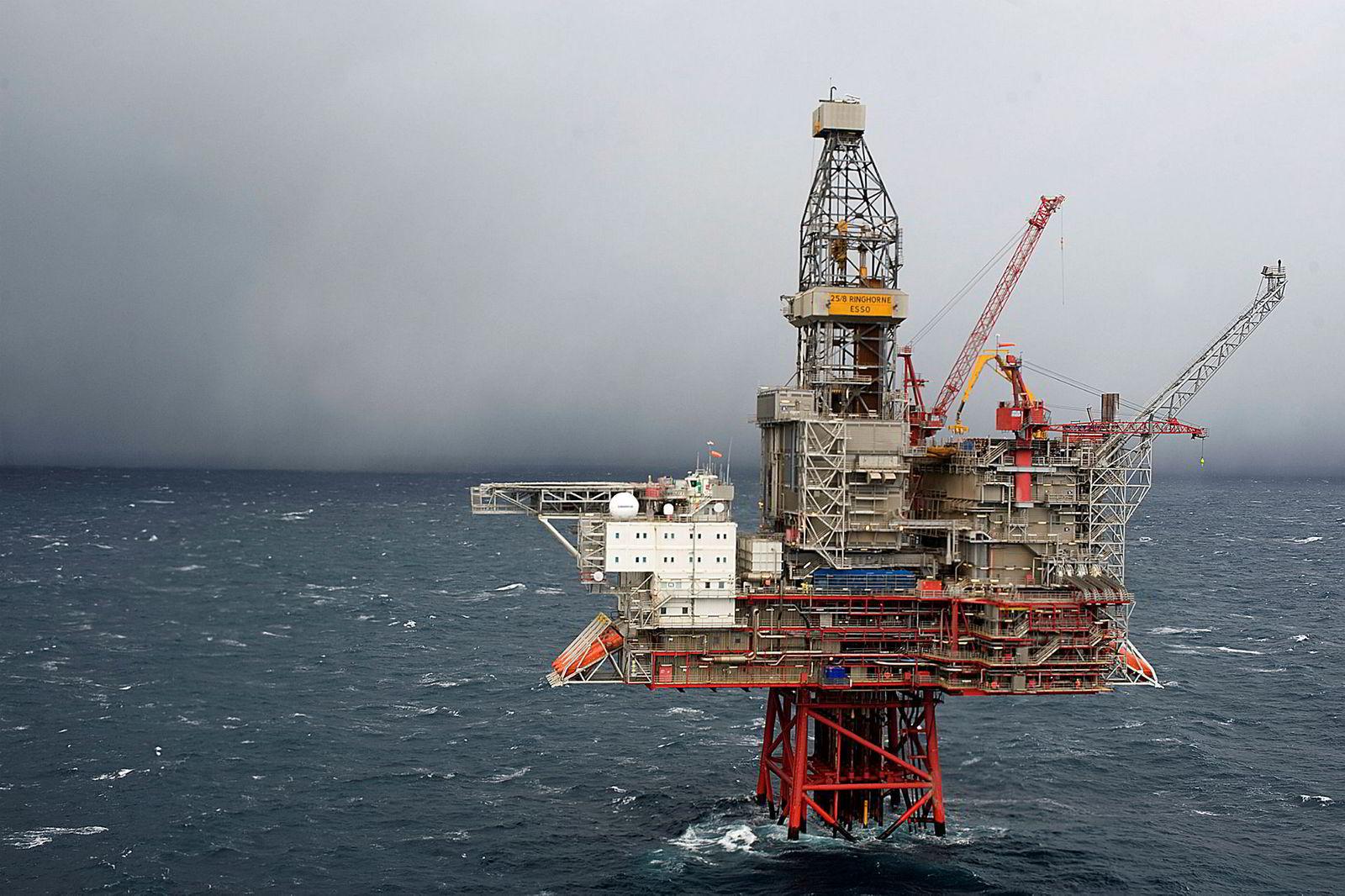 Ringhorne var et av oljefeltene Hitec Vision tidligere kjøpte fra ExxonMobil.