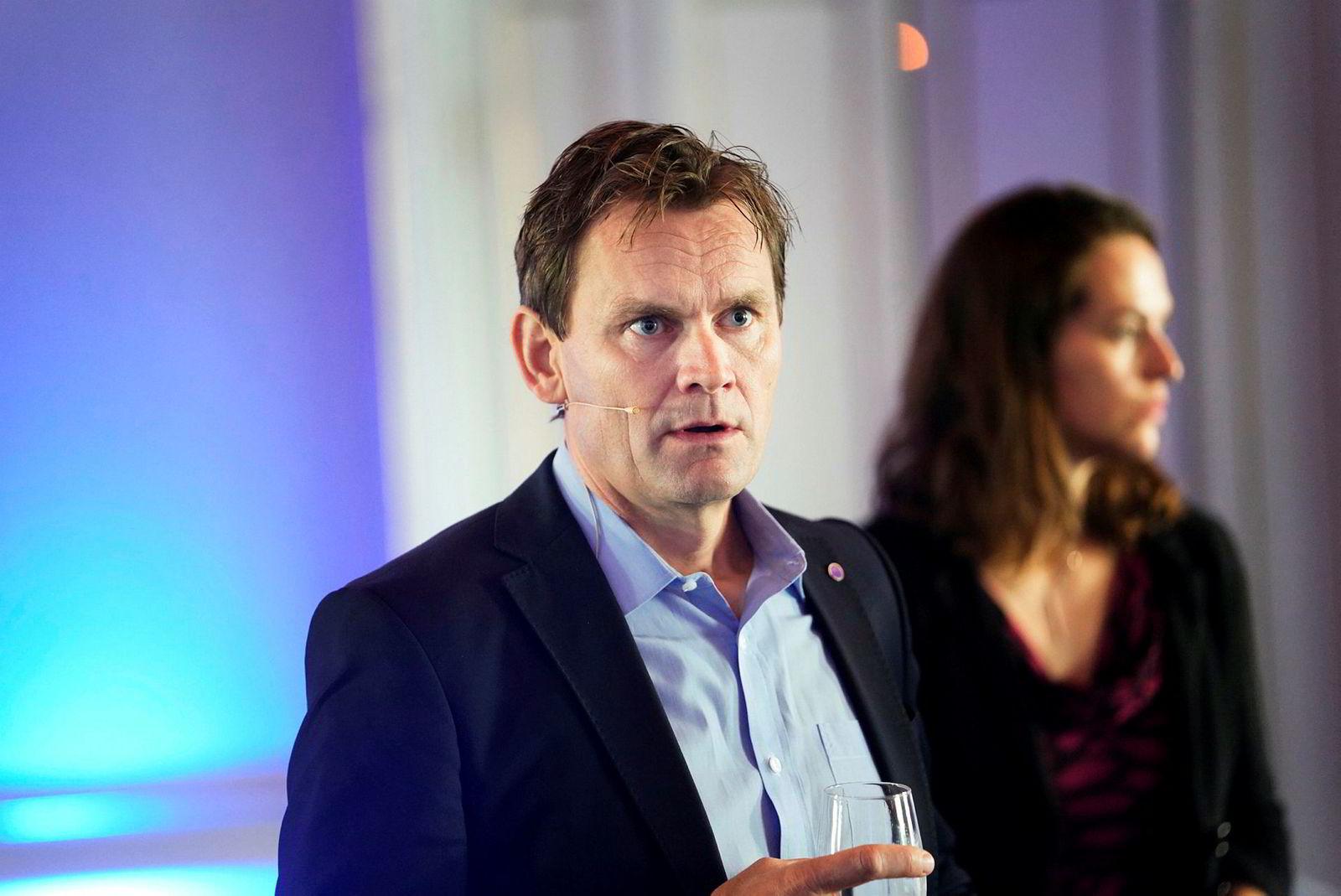 Jon Andre Løkke i Nel asa.