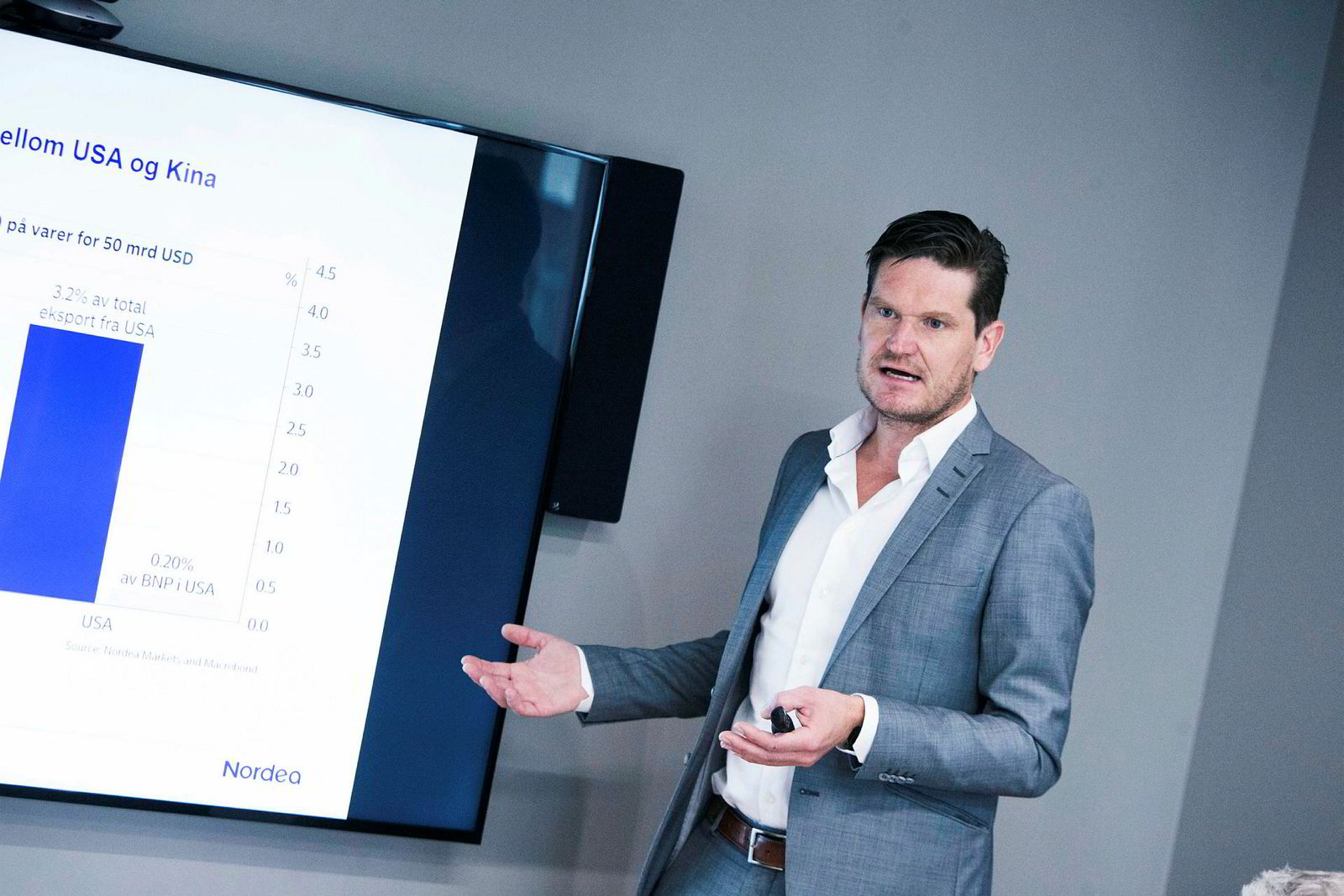 Kjetil Olsen, sjeføkonom i Nordea.
