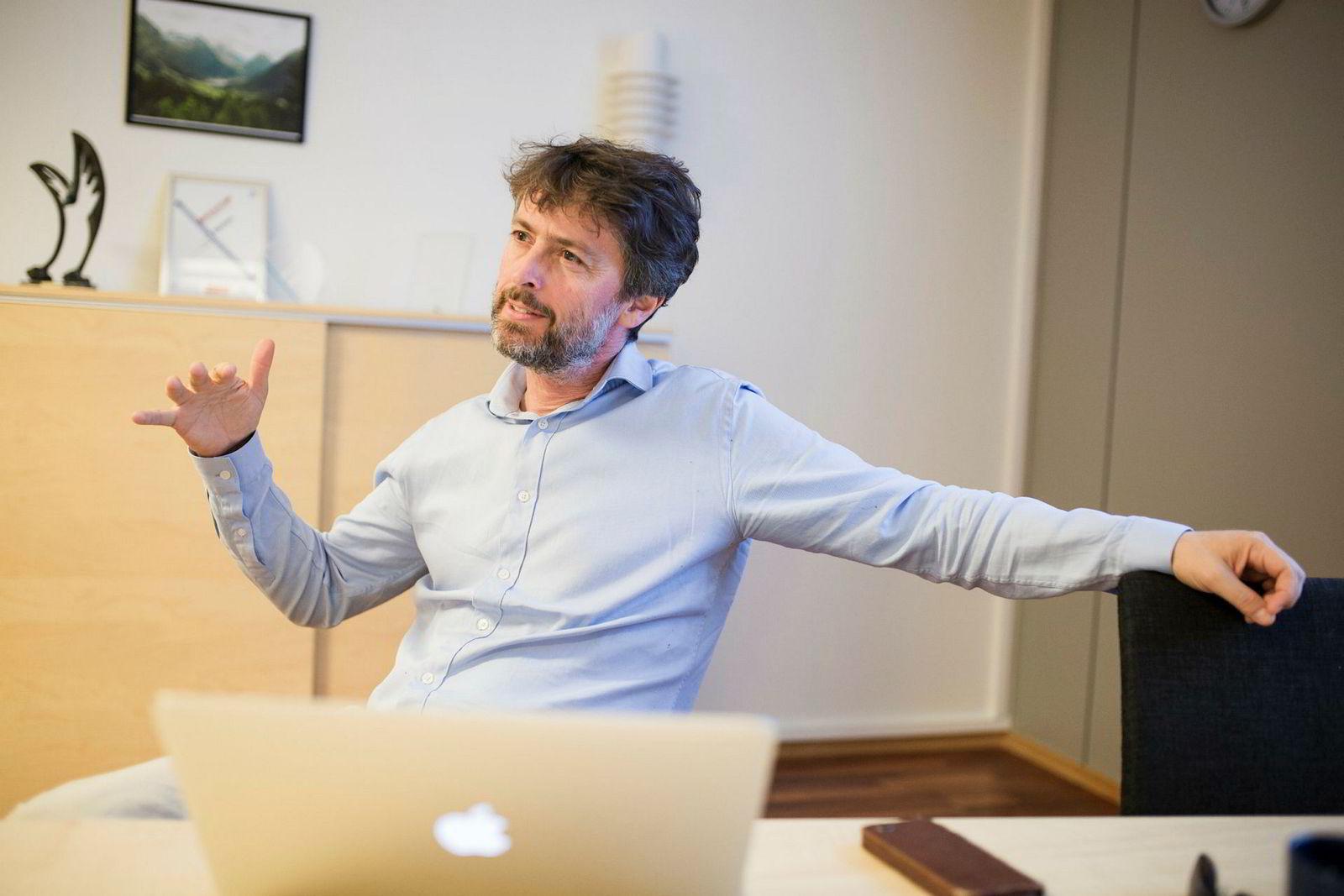 Bård Sundrehagen, administrerende direktør i og grunnlegger av Gentian.