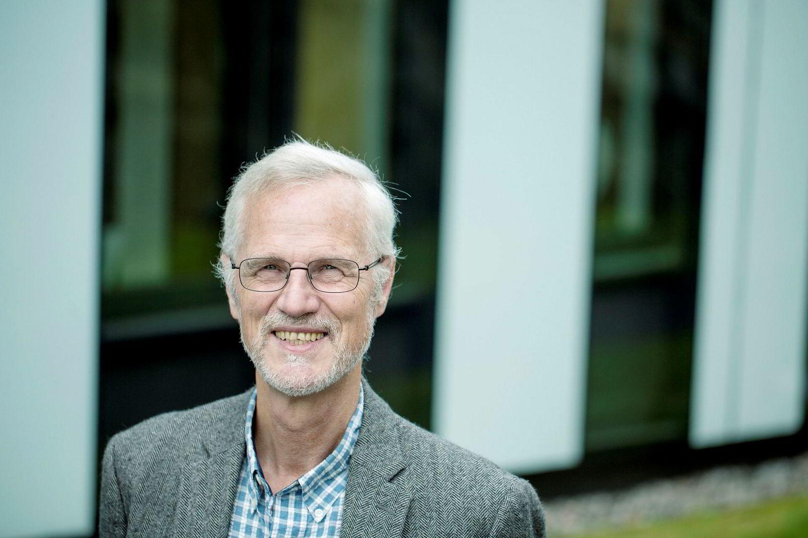 Frøystein Gjesdal, rektor ved Norges Handelshøyskole.