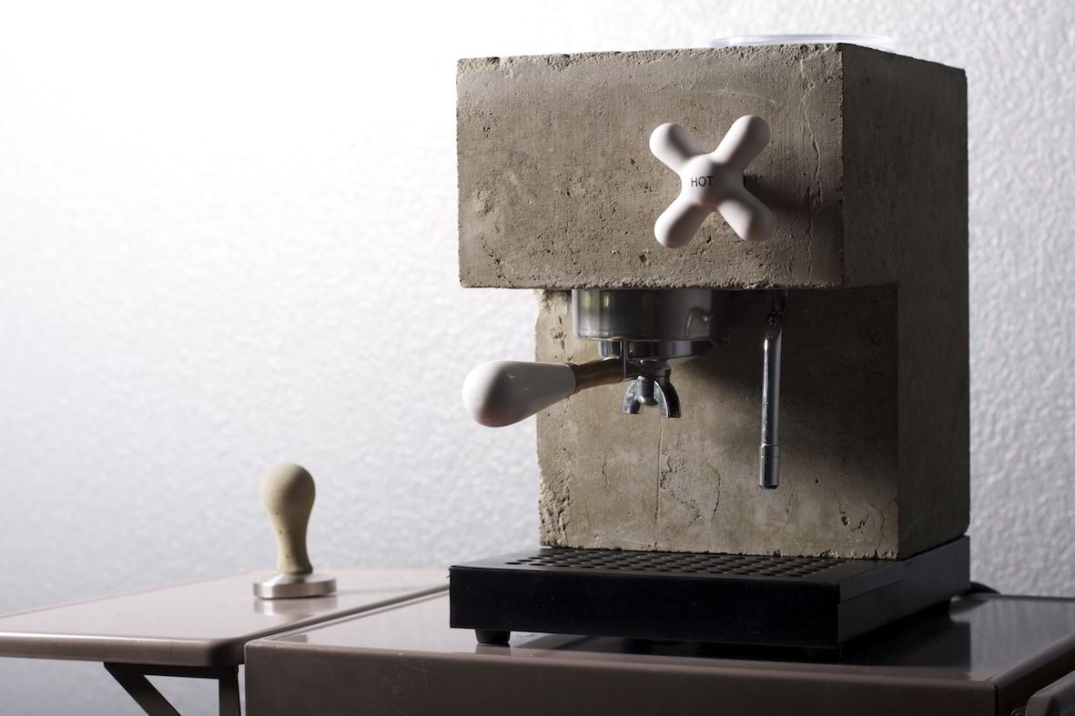 Anza heter kaffemaskinen designet av Per Ivar Selvaags firma. Foto: