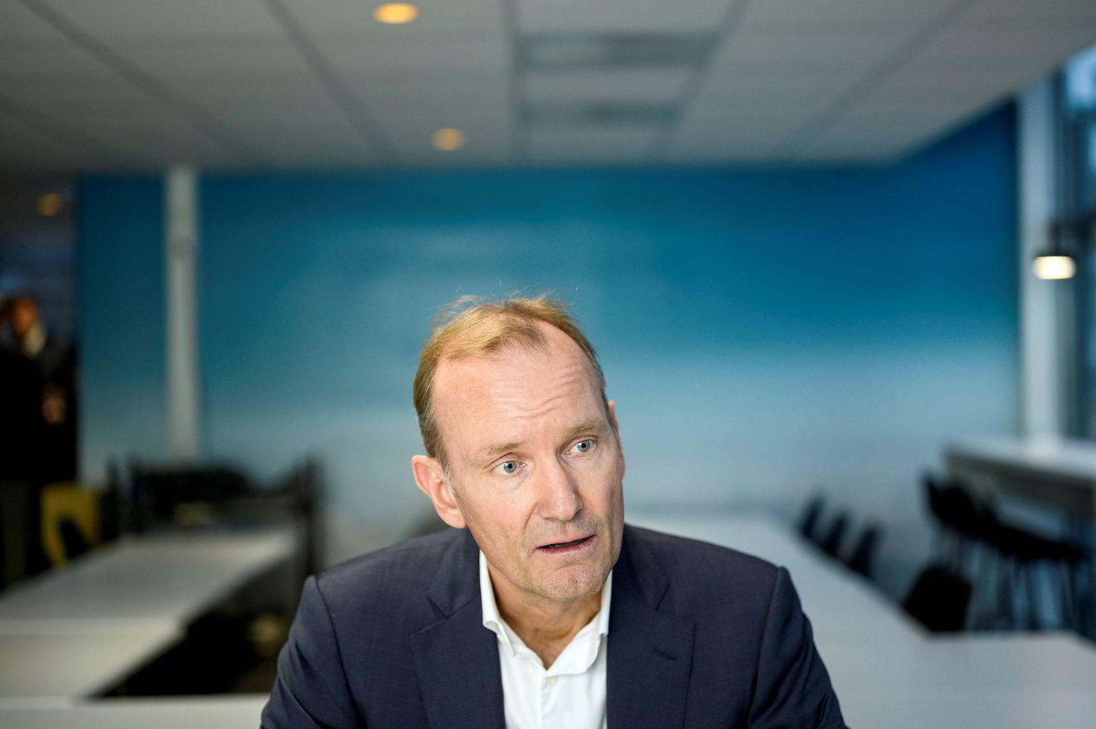 Styreleder i Norwegian Niels Smedegaard. ---