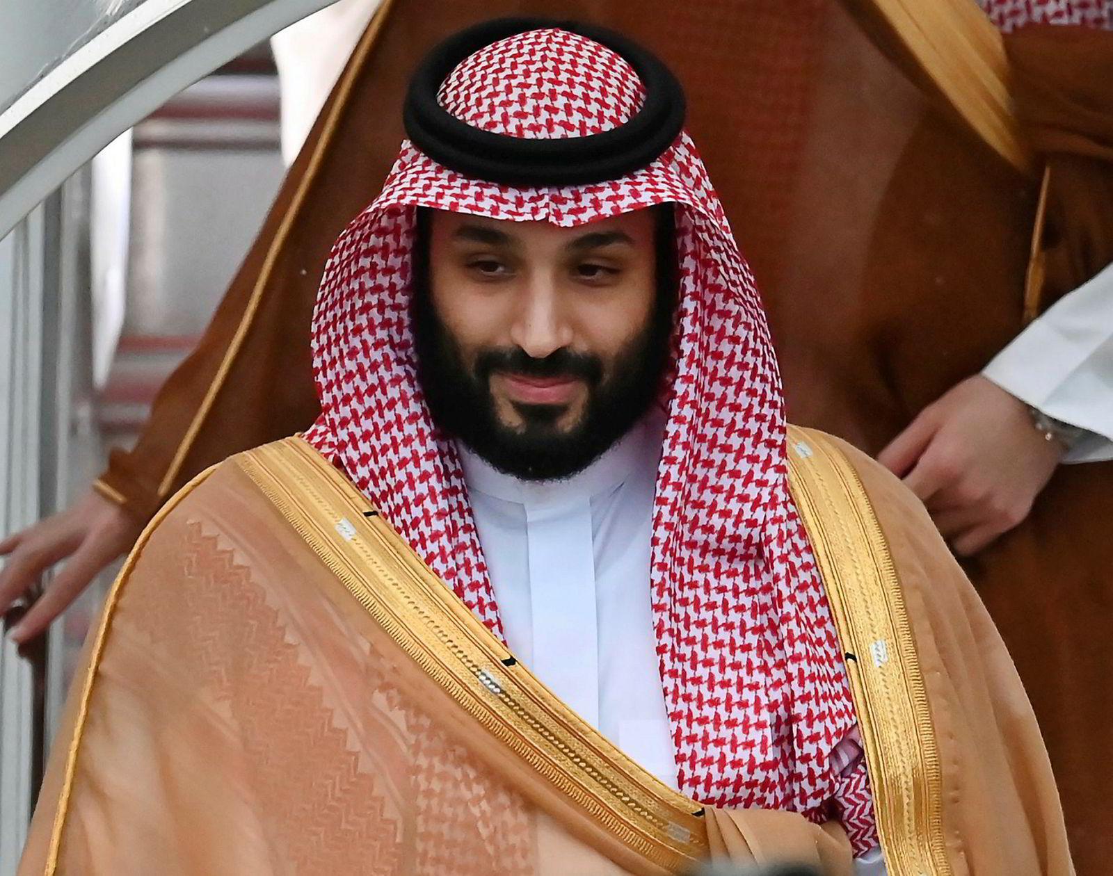 Saudi-Arabias kronprins Mohammed bin Salman ønsket at det statlige oljeselskapet Saudi Aramco skulle verdsettes til 20.000 milliarder kroner. Nå er det verdsatt til 15.000 milliarder.